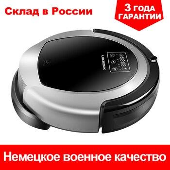 Aspirador de robot LIECTROUX B6009,3KPa Succión, Mapa de navegación, con Memoria, Aplicación WiFi, Tanque de Agua, Motor sin Escobillas, Bloqueador Virtual