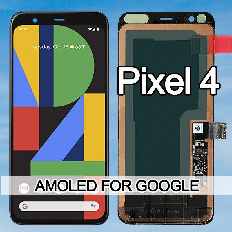 100% протестированный AMOLED для Google Pixel 4 ЖК-дисплей кодирующий преобразователь сенсорного экрана в сборе сменный ЖК-дисплей для Google Pixel4