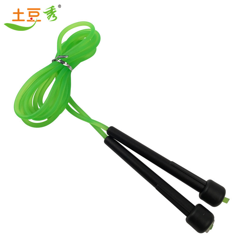 Small Handle Jump Rope Pattern Tiaoshen Rope Fitness Sports Equipment Physical Fitness Exercise Entertainment Game Endurance Tra