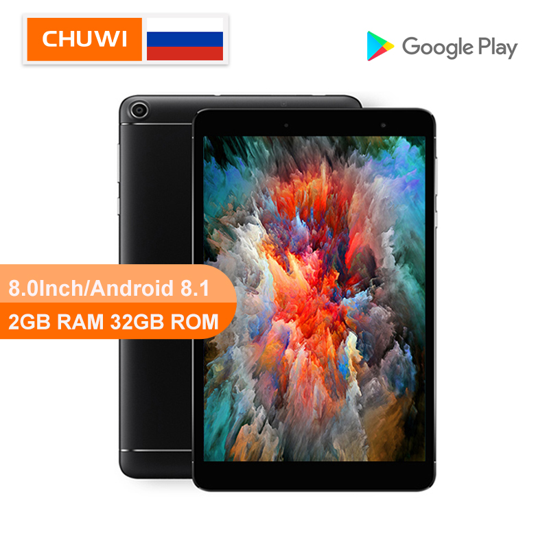 CHUWI Original Hi8 SE 8.0 Inch Tablet PC MT8735VT Cortex-A53 Cor Quad Core 2GB RAM 32GB ROM  Android 8.1 Tablet WIFI 2.4G/5G