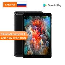 CHUWI Original Hi8 SE PC de la tableta de 8,0 pulgadas de MT8735VT cortex A53 CDR Quad core 2GB RAM 32GB ROM Android 8,1 Tablet WIFI 2,4G/5G