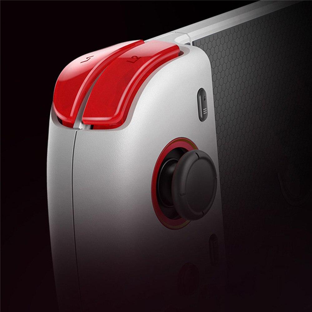Controlador de juegos portátil para OPPO Reno Ace teléfono Bluetooth Gamepad versión unicornio Joystick 4D Shock y almohadilla de juego balancín 3D - 6