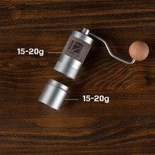 Новинка, портативная кофемолка из алюминиевого сплава 1 zat Q2, мини кофемолка, шлифовальный сердечник, очень ручной подшипник для кофе
