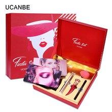 UCANBE Christmas Gift Makeup Set Aromas Eyeshadow Palette Lipstick Mascara Make Up Fiesta Kit Maquillaje Profesional