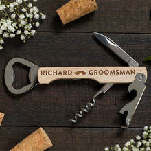 Personalized Bottle Opener Custom Groomsmen Gifts Men Weddin
