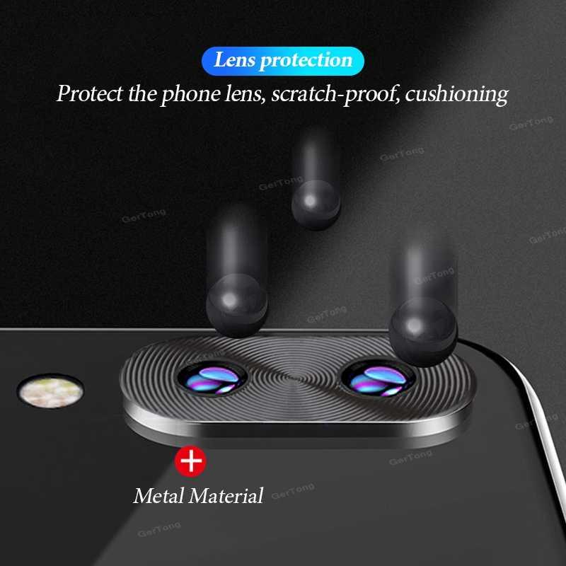 Lensa Kamera Pelindung Case untuk Xiao Mi Merah Mi Note 7 K20 Pro Mi 8 9 Se Mi X 3 cincin Plating Alu Mi Jumlah Kamera Cincin Penutup Perlindungan