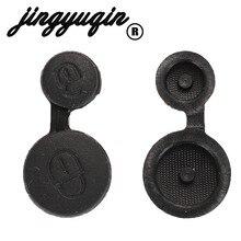 Jingyuqin المطاط أزرار سيارة حقيبة غطاء للمفاتيح لبيجو 106 205 206 306 405 406 لسيتروين بيرلينجو كسارا بيكاسو ساكسو