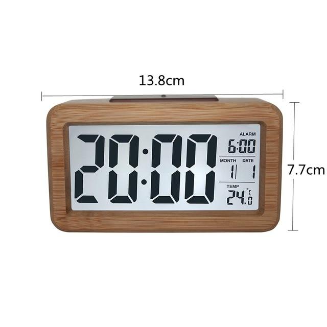 Business Accessories & Gadgets Laptop Desk Accessories Wood Table Clock
