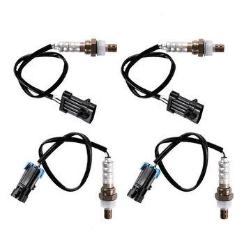 TIANBANG 4pcs Upstream+Downstream Oxygen Sensor 234-4012 234-4018 For 1999-2002 GMC Sierra Savana 1500 2500/Chevy Avalanche 1500