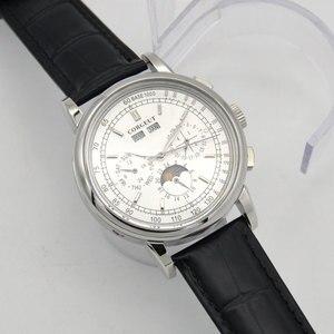 Image 3 - 42 ay fazı izle erkek hafta takvim yıl ay otomatik mekanik часы мужские механические montre homme 316L paslanmaz çelik