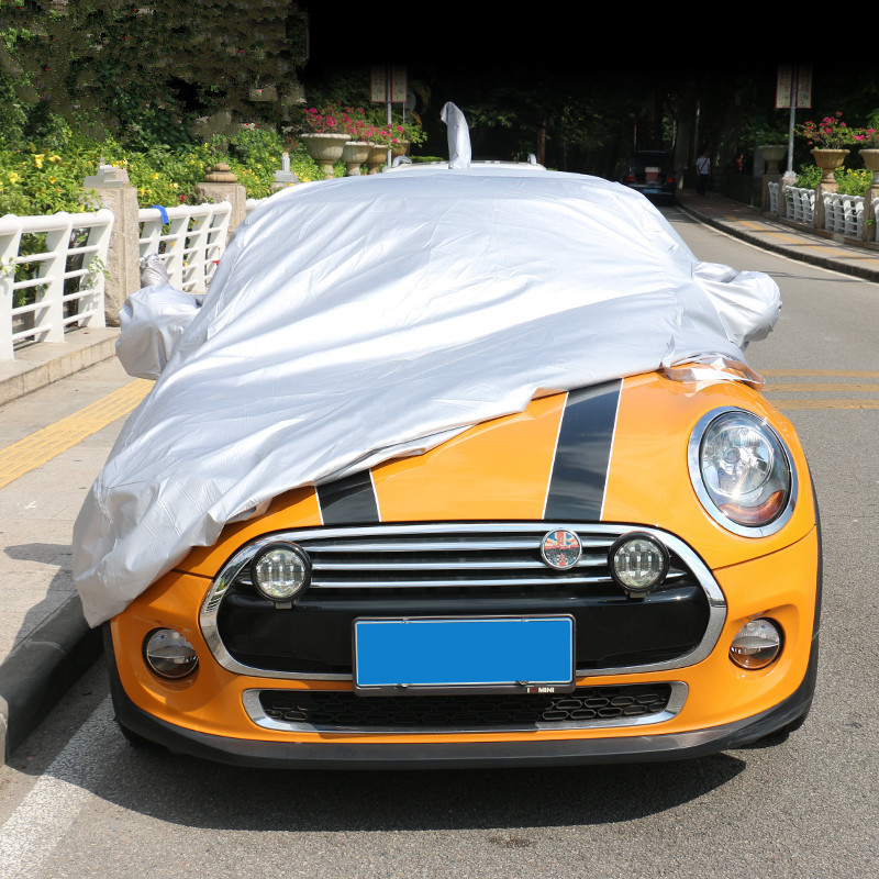Couverture de carrosserie complète pare-soleil étanche à la poussière Auto couverture pare-soleil pour MINI Cooper Countryman Clubman R55 R56 R60 R61 F55 F56