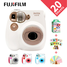 New Genuine Fujifilm Instax Mini 7C 7S Camera 6 Colors On Sale White Pink Blue I