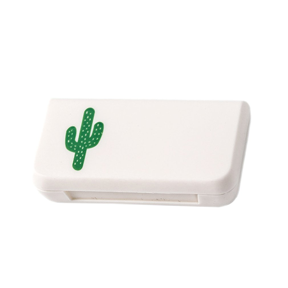 Portable Mini Pill Box 3 Grids Candy Portable Pill Case Medicine Boxes Travel Home Drugs Container Wholesale
