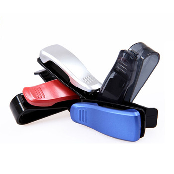 ABS Glasses Clip Car Glasses Holder Sun Visor Clamp Sunglasses Holder Modification For BMW F30 F10 F25 X5 F15 X6 F16 G30 F25 F45 image