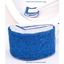 Щетка для унитаза изогнутая щетка уборки ванной очистки от царапин