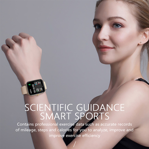 Image 5 - ساعة رياضية متصلة للرجال والنساء ، مع عداد الخطى ، ومراقبة معدل ضربات القلب والنوم ، ومقاومة للماء ip67 ، 2021