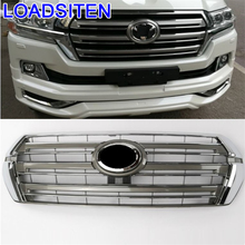 Upgraded Exterior Styling Car Accessories Racing Grills 08 09 10 11 12 13 14 15 16 17 18 FOR Toyota Land Cruiser decoration upgraded auto exterior protector accessories spoilers 08 09 10 11 12 13 14 15 16 17 18 for toyota land cruiser