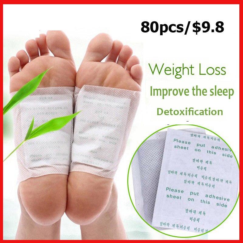 (40 remendos + 40 aderentes dos pces) o remendo de bambu das almofadas do pé da desintoxicação do transporte da gota kinoki remendos com cuidado adersivo do pé melhora o sono