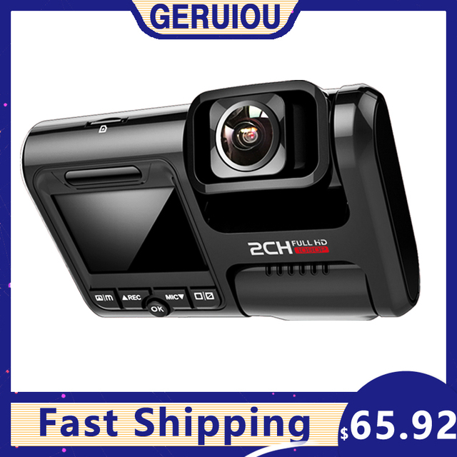 Aiba J07 WIFI Dual Lens Sony IMX323 Dash Cam Novatek 96663 Chip Sensor Night Vision Dual Camera Dash Cam 24H Parking 4k 2160p 1