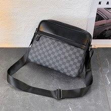 Men Bag Messenger-Bag Business Crossbody-Bag Vintage Male Fashion Casual New-Arrival
