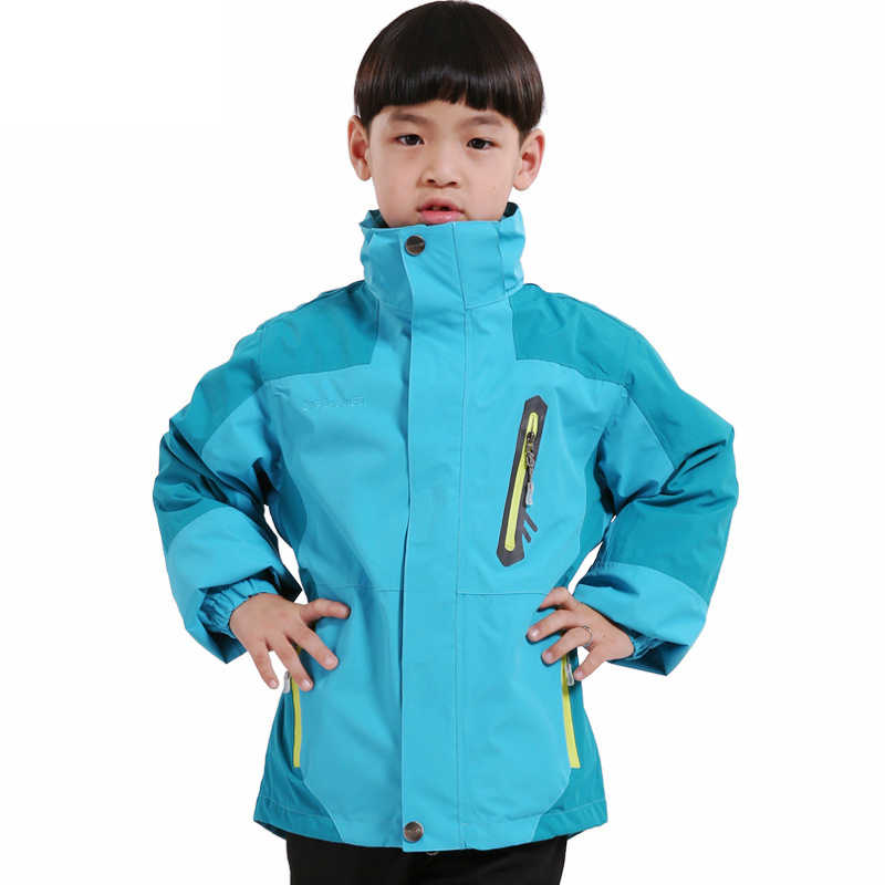 ZYNNEVA tweedelige Set 3 IN 1 Kinderen Wandelen Jassen Winter Fleece Warm Jongens En Meisjes Pak Kids Outdoor sport Colthes GD1102