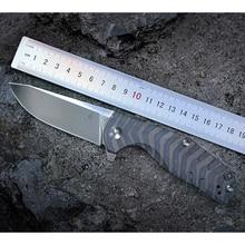 Kizer Bushcraft Messer Überleben CPM S35VN Klinge 6AL4V Titan Griff Hohe Qualität Outdoor Taschen Messer Werkzeug Ki4461A1 Kesmec