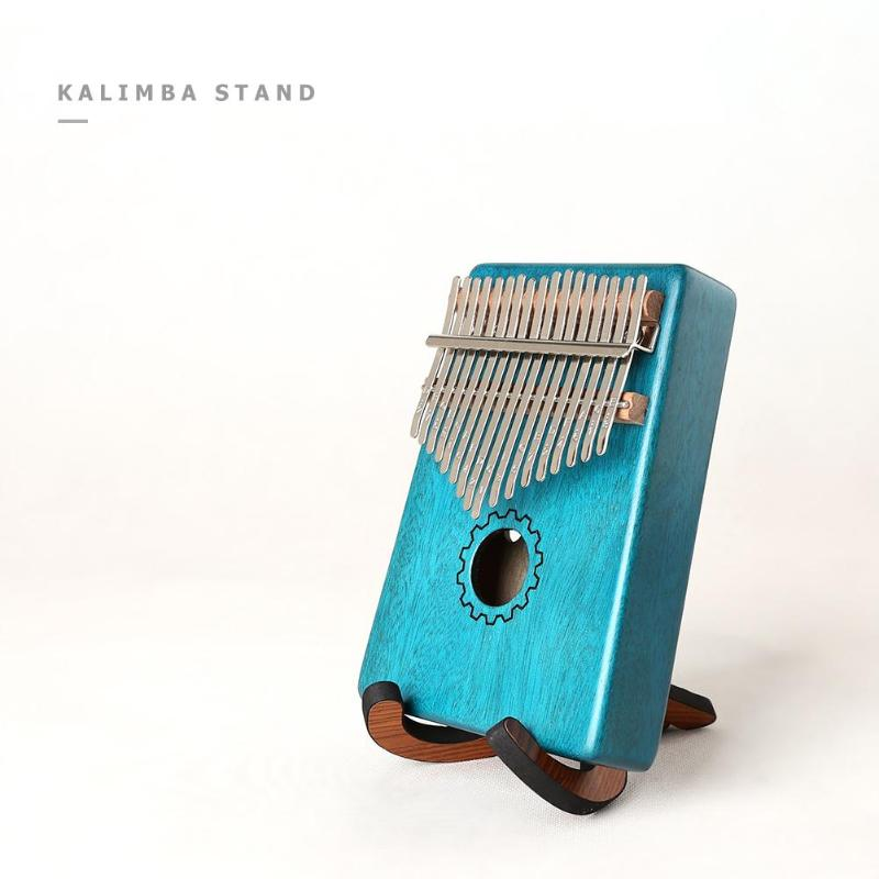 Portable Wooden Kalimba Holder Stand Collapsible Stand Rack For Kalimba Thumb Piano Accessories