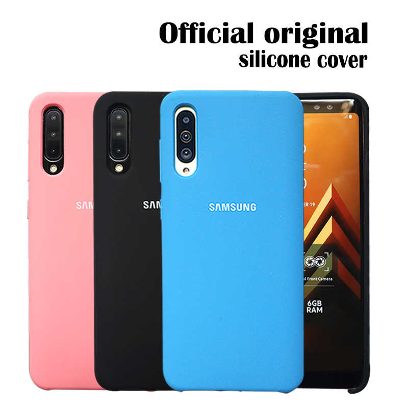 Samsung A70 Case Original Liquid Silicone Silky Soft Touch Full Protective Case For Samsung Galaxy A50 A7050 Case Samsung Mobile Phone Case Covers Aliexpress
