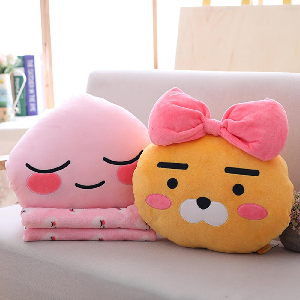 1 Pcs Kawaii Ryan Apeach Plush Toy Cryan Pillow Toy Lovely Cartoon Doll For Girlfriend Birthday And Gift For Children Present