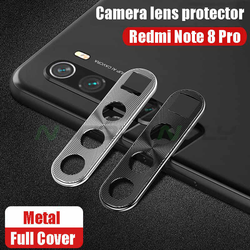 Camera Lens Protective Metal Ring for Xiaomi Redmi Note 8 Pro Phone Back Camera Lens Screen Protector for Redmi Note8 Cover Case