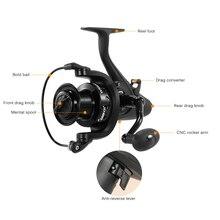 Coonor WN5000 11   1 Ball Bearings Fishing Reel 5.1: 1 Pemintalan Memancing Pening dengan Kiri/Kanan Dipertukarkan Handle Memancing Gear
