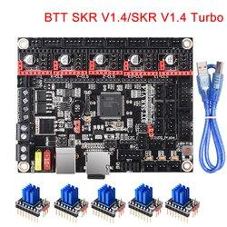 BIGTREETECH SKR V1.4 בקרת לוח/BTT SKR V1.4 טורבו 32 קצת 3D מדפסת חלקי SKR V1.3 TMC2208 TMC2209 עבור אנדר 3/5 מיני E3