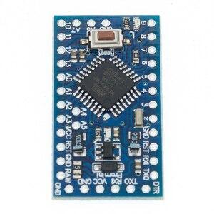 Image 4 - Il trasporto Libero 100 pz/lotto Pro Mini 328 Mini 3.3V/8M 5V/16M ATMEGA328 ATMEGA328P AU 3.3V/8MHz 5V/16MHZ per Arduino