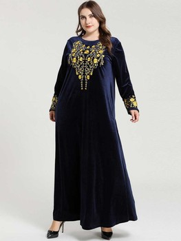 Muslim Fashion Elegant Abayas For Women Dubai Long Sleeve Wedding Dress With Hijab Vestidos Lovers