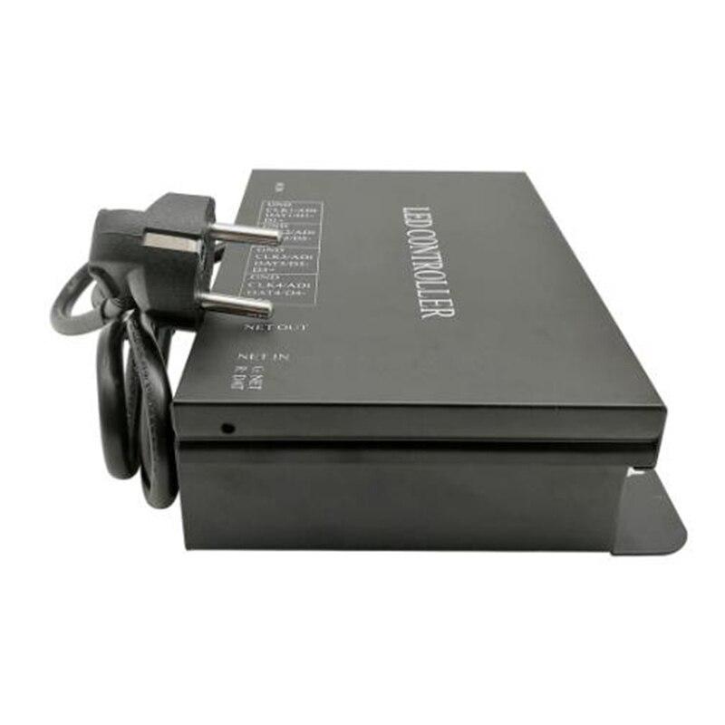 H802RA Art-Net Protocol for MADRIX 4Ports 4096Pixels Salve or Master LED Pixel Controller(EU Plug)