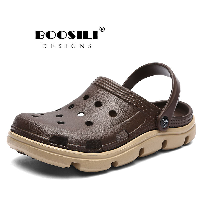 2019 Hot Sale 2020 New Mens Eva Sandal Men's Garden Shoes Summer Sandals High Quality Breathable Clogs Lightweight Big Size 45