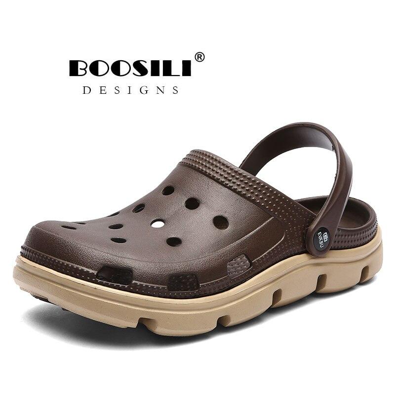 2019 Hot Sale 2020 New Mens Eva Sandal Men's Garden Shoes Summer Sandals High Quality Breathable Clogs Lightweight Big Size 45