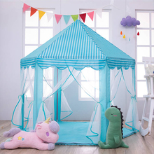 Baby toy Tent Portable Folding Prince Princess Tent Children Castle Play House Kid Gift Outdoor Beach Tent Toy For Kids gifts yard space theme toy tent kids game house baby play tent child gifts castle children teepee kid tent