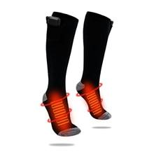 Hot-Socks Electric-Heating-Socks Temperature Women Elastic-Wire Lithium-Battery Adjustable