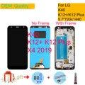 Оригинальный 5 7 ''для LG K40 LCD сенсорный экран дигитайзер Запасные части для LG X4 2019 LCD для K12 Plus дисплей LMX420