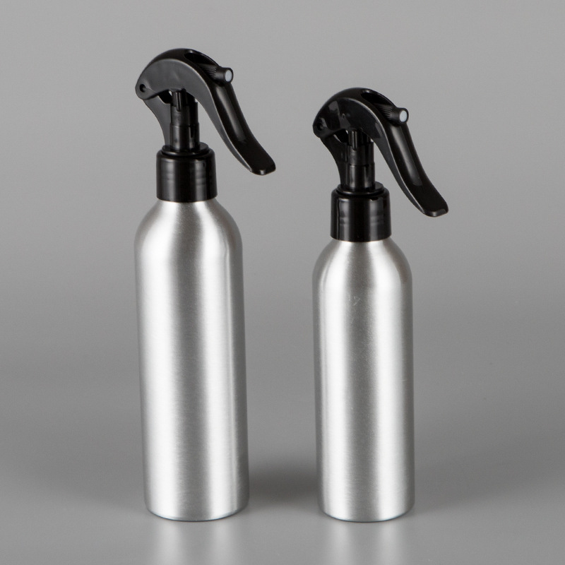 1Pc 30/50/100/150/250ml Aluminum Empty Bottle Refillable Mist Bottle Dispenser Salon Barber Mouse Spray Bottles Hair Care Tools