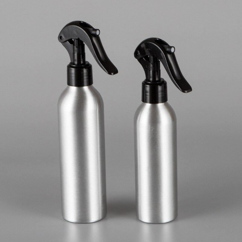 1Pc 30/50/100/150/250ml Aluminum Empty Bottle Refillable Mist Bottle Dispenser Salon Barber Mouse Spray Bottles Hair Care Tools