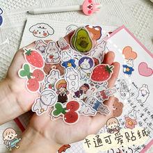 Мультяшная фигурка японская бумага клейкая ins wind hand счёт
