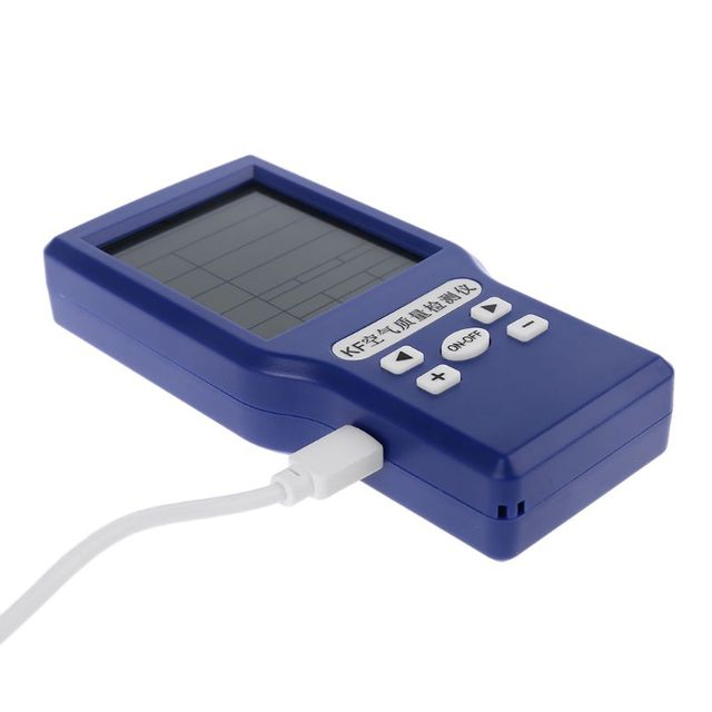 Co2 ppm meters tvoc hcho aqi carbon dioxide detector gas analyzer protable air quality tester 94pc