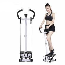 Wielofunkcyjna domowa siłownia utrata masy ciała noga krokowa Fitness krok maszyna kryty krokowy Monitor LCD regulowana wysokość