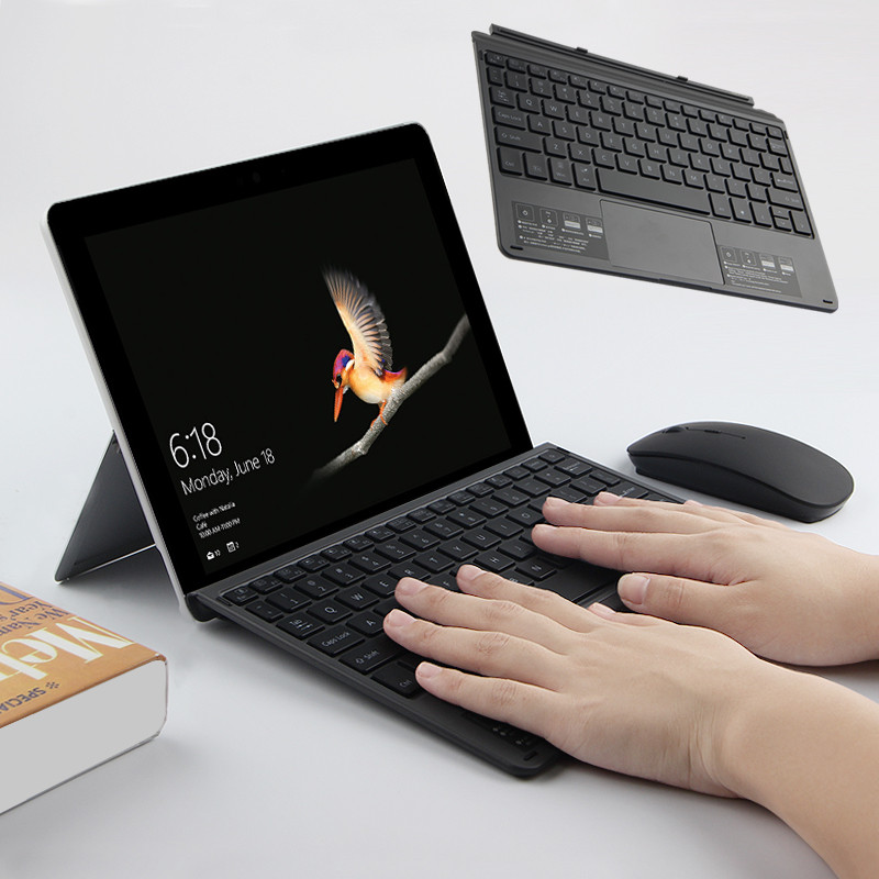 Bluetooth Keyboard For Microsoft Surface Go 10 Inch Tablet Wireless Bluetooth Keyboard Mouse For Microsoft Surface Go 10.1