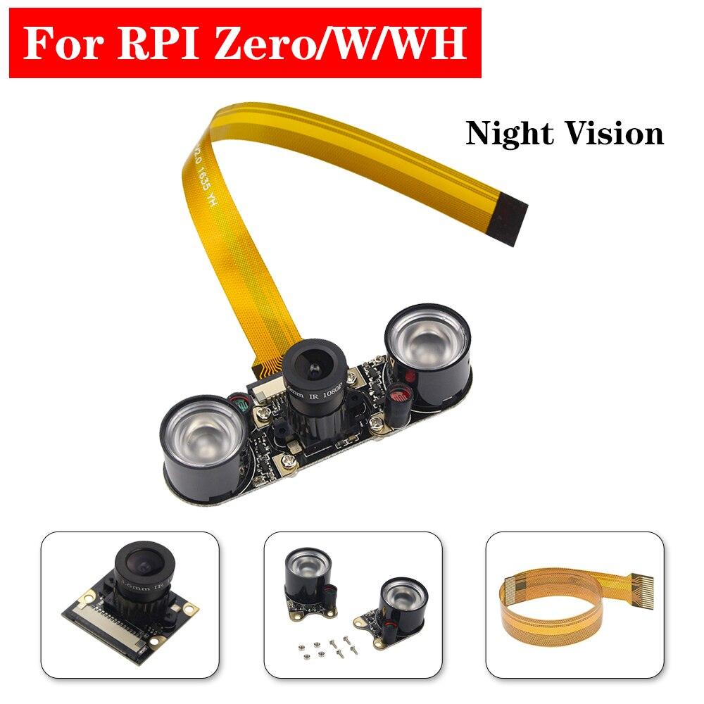 Raspberry Pi Zero Night Vision Camera 5MP 1080P 60 Degree Focal Adjustable Camera For Raspberry Pi Zero V1.3 Zero W WH RPI 0 W