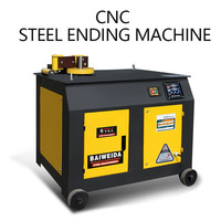 Steel bar bending machine CNC automatic round steel bending machine thread steel bending machine stirrup bending bending machine