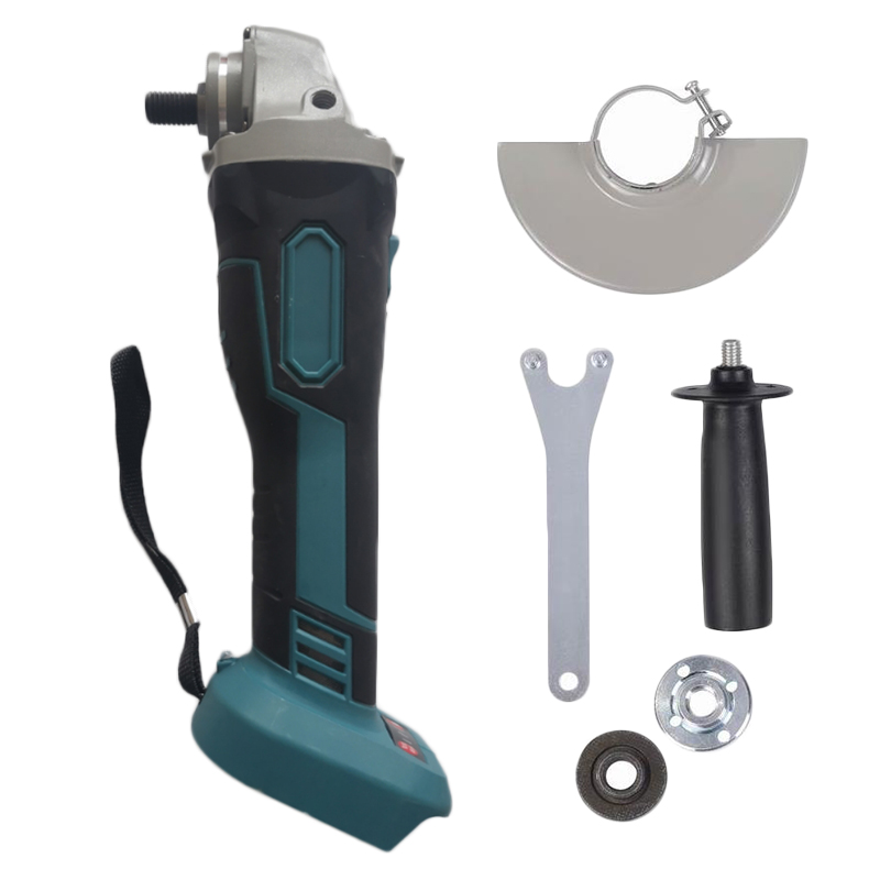 125mm 18V Brushless Wireless Impact Angle Grinder Head Tools Kit Without Battery 100-240V AC 50 / 60Hz Multi Tools