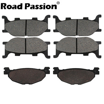 Road Passion Motorcycle front and rear brake pads for YAMAHA XP500 XP 500 T-Max Tmax 2004 -2007 YP400 YP 400 Majesty